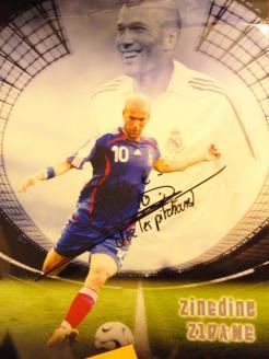 Zidane et les pitchoune